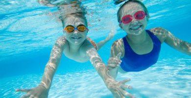 swimming-children